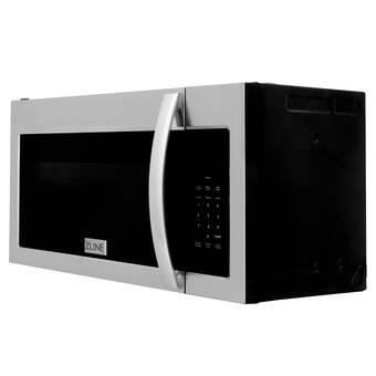 Zline Kitchen And Bath Studio 24 1 6 Cu Ft 1000 Watt Recirculating Convection Countertop Microwave With Sensor Cooking Reviews Wayfair