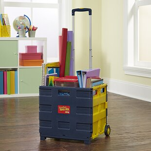 3d3a1b323dc Folding 5 Compartment Teaching Cart with Casters