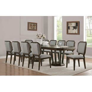 Barfield 11 Pieces Extendable Dining Set