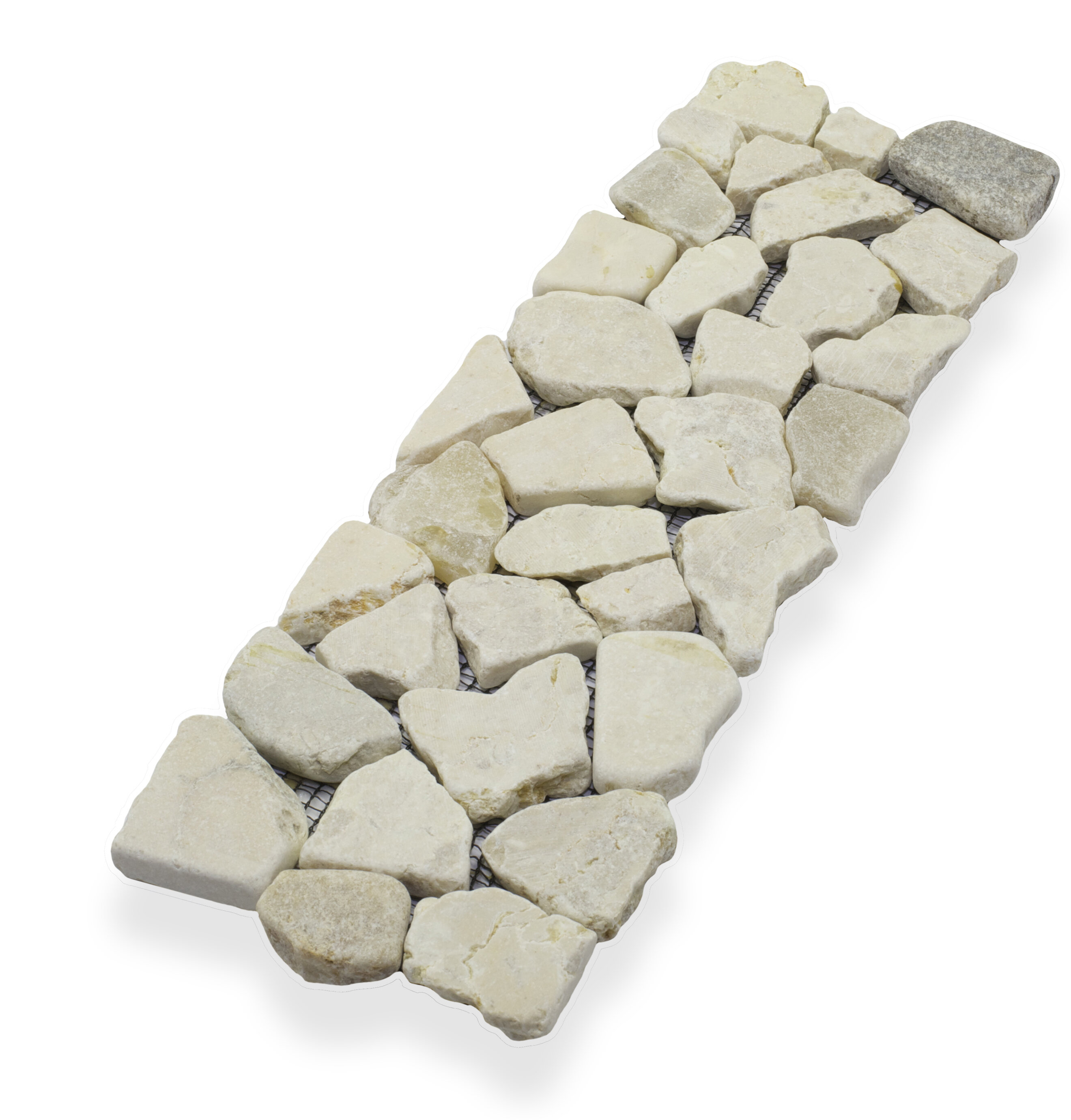 Pebble Tile 4 X 11 75 Natural Stone