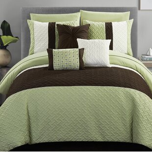 Goldwait 10 Piece Comforter Set by Red Barrel Studio Great Reviews