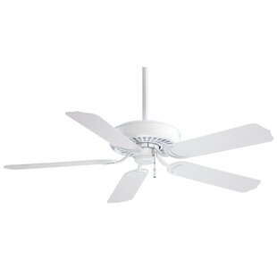 Buying 52 Sundance 5-Blade Indoor / Outdoor Ceiling Fan By Minka Aire