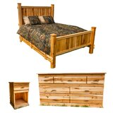 Leedy Mountain Maple Standard Configurable Bedroom Set by Millwood Pines