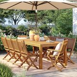 Brighton 11 Piece Teak Dining Set