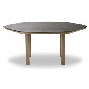 Marine Grade Polymer Hexagonal Dining Table by Telescope Casual Discount