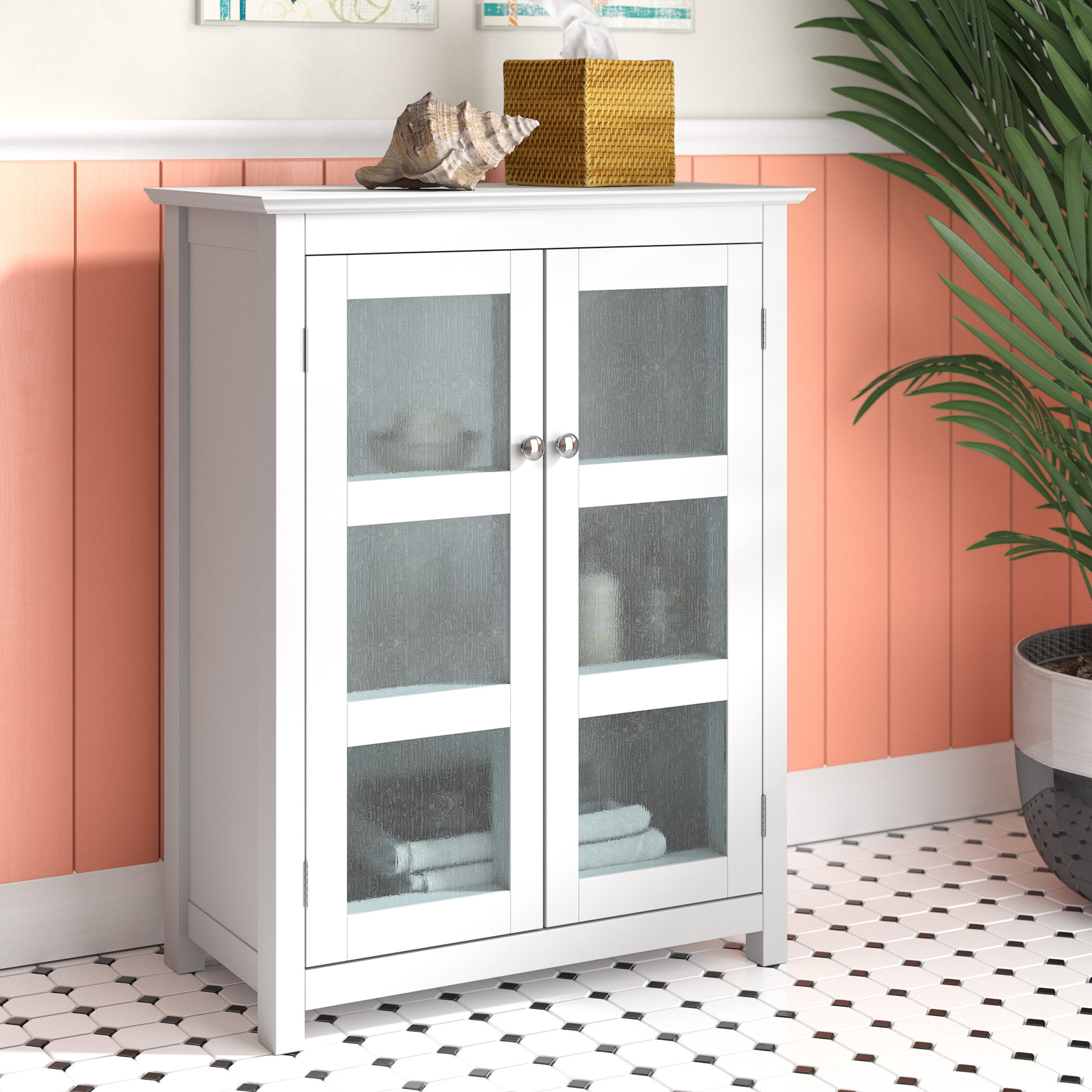 Terrific Farmhouse Bathroom Cabinet Wayfair Download Free Architecture Designs Lukepmadebymaigaardcom
