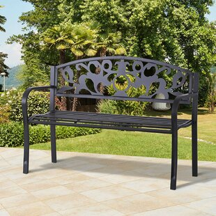 Grinnell Metal Bench Image