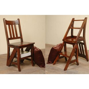 Plattsburgh Solid Wood Dining Chair Loon Peak
