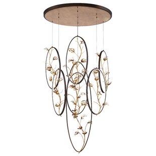 Everly Quinn Shirl 7-Light LED Pendant