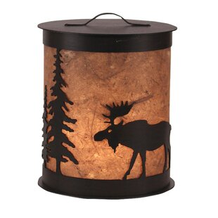 Coast Lamp Mfg. Moose and Tree 1- Light Night Light