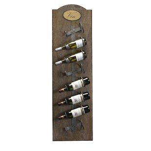 Belfield 8 Bottle Wall Mounted Wine Rack by Fleur De Lis Living