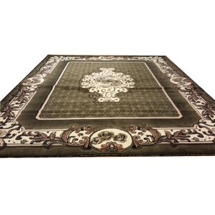 Best Reviews Hand-Carved Green Area Rug By Rug Tycoon
