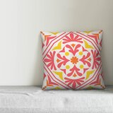 Resendiz Bold Tile Indoor/Outdoor Throw Pillow