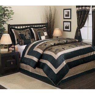 Nanshing America, Inc Pastora 7 Piece Comforter Set