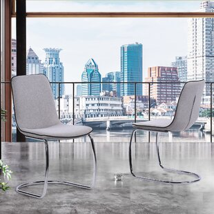 Gordillo Upholstered Dining Chair (Set Of 2) by Orren Ellis Purchase