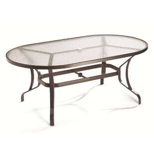 Banchetto Glass Dining Table by Tropitone