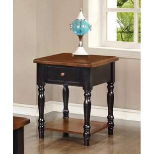 Boston End Table with Storage by Chelsea Home