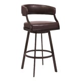 Adelmo Swivel Bar & Counter Stool by Ivy Bronx