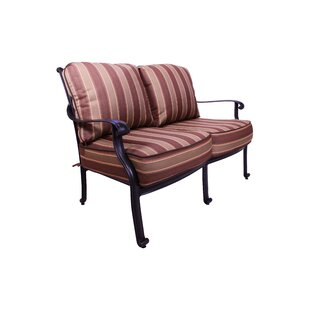 Islais Patio Loveseat With Sunbrella Cushions by Darby Home Co Find