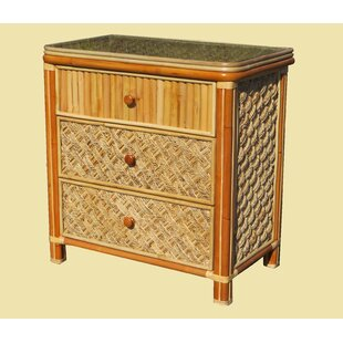 Jovani 3 Drawer Chest by Bay Isle Home