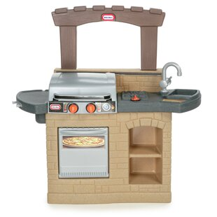 Read Reviews Cook 'n Play Outdoor BBQ™ Kitchen Set ByLittle Tikes
