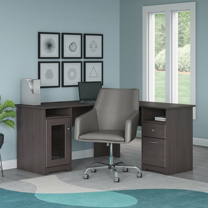 Marvelous Hillsdale L Shape Desk And Chair Set Andrewgaddart Wooden Chair Designs For Living Room Andrewgaddartcom