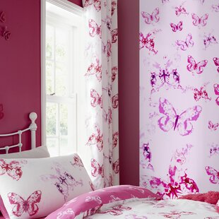 Butterfly Bedroom Curtains | Wayfair.co.uk