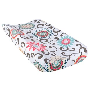 Reviews Pom Pom Play Waverly Baby Changing Pad Cover By Trend Lab