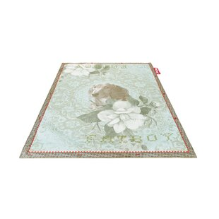 Dog Non-Flying Blue Indoor/Outdoor Novelty Rug
