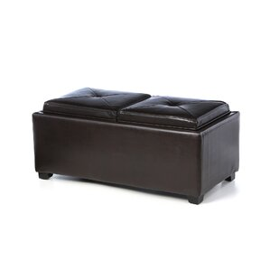 Dashner Double Tray Cocktail Ottoman by Darby Home Co