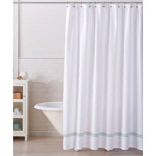 Aurora 100% Cotton Shower Curtain