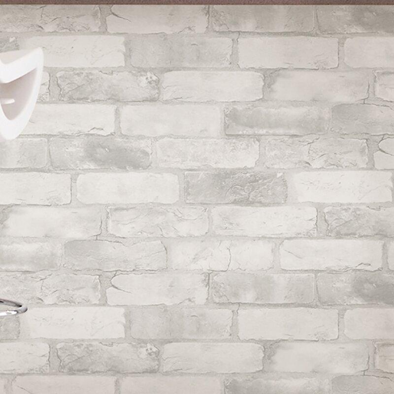 Bethea Loft Brick Peel And Stick 18 X 20 5 Wallpaper Roll Reviews Joss Main