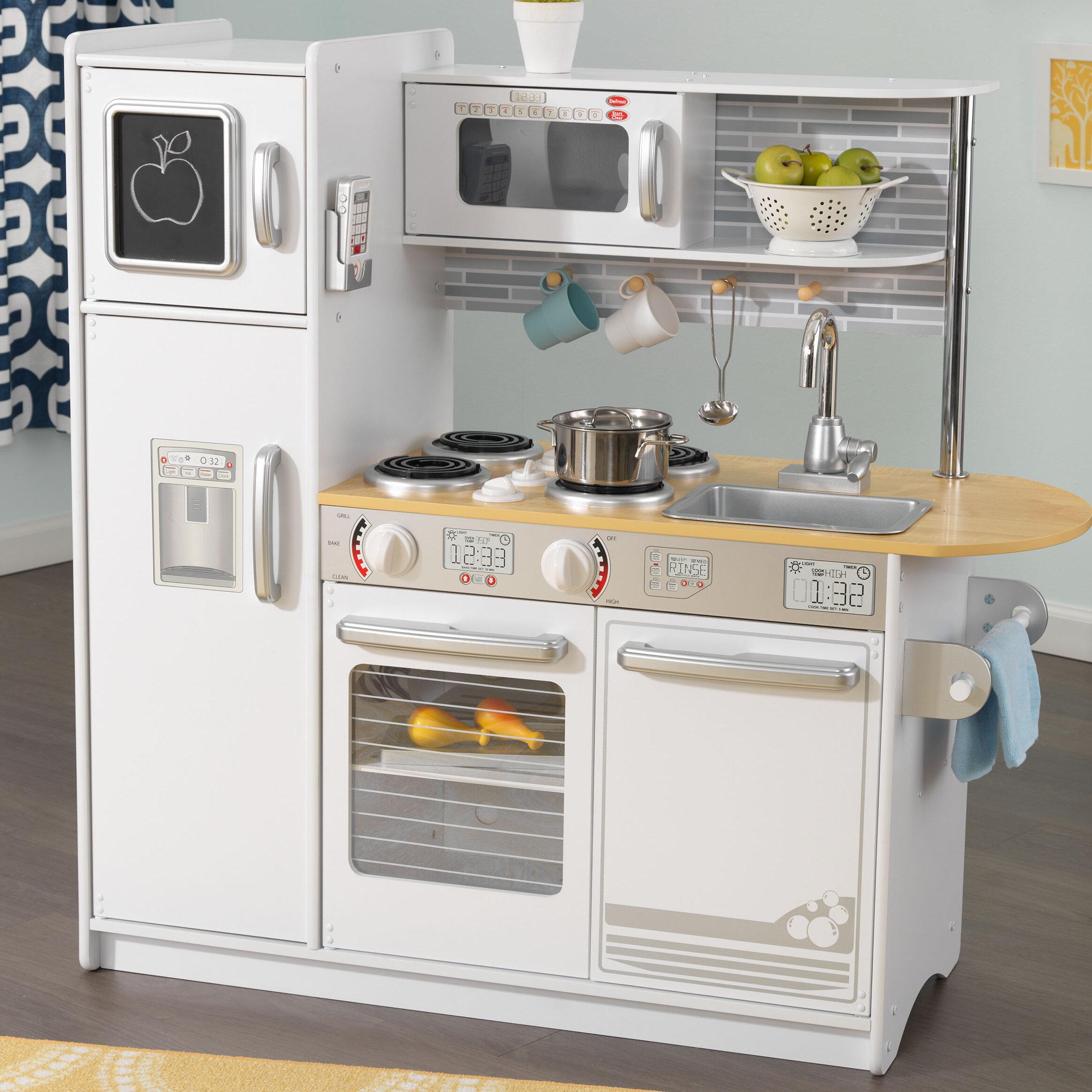 KidKraft Uptown Play Kitchen Set & Reviews | Wayfair