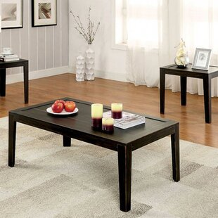 Hoeft 3 Piece Coffee Table Set