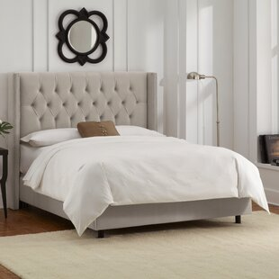 Allbright Upholstered Panel Bed byWilla Arlo Interiors