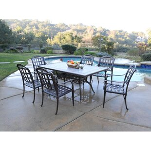 August Grove Falkner 7 Piece Dining Set