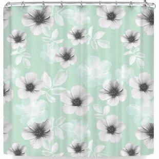 Cafelab Pale Garden Single Shower Curtain