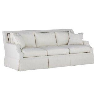 Paige Kick Pleat Sofa