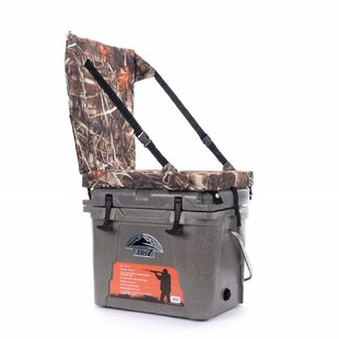 Nash 23 Qt. Sub Z Cooler with Camo High Back Seat