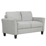 Aveanna 54.1'' Wide Linen Flared Arm Loveseat by Red Barrel Studio®