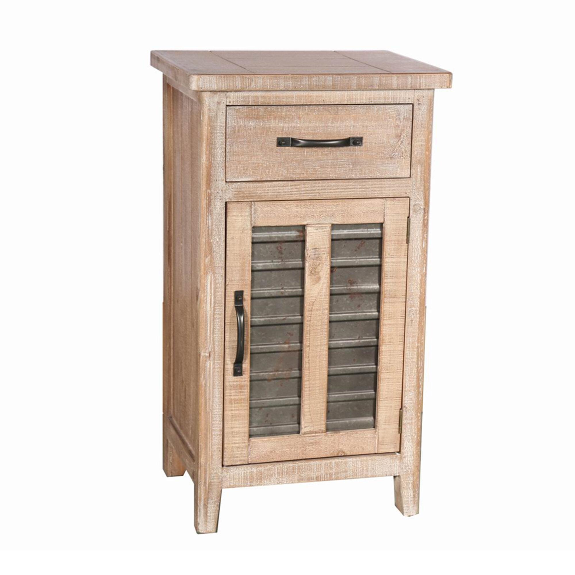 Rosalind Wheeler Cerny 1 Door Accent Cabinet Wayfair