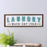Wooden Laundry Signs
