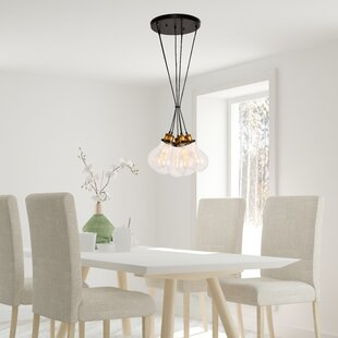 Seely 6-Light Cluster Pendant by Williston Forge