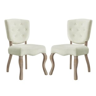 Fairfield Upholstered Dining Chair (Set of 2) Ophelia & Co.