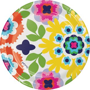 Maziarz Paper Dinner Plate (Set of 10)