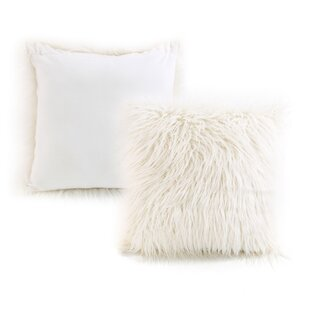 Faux Alpaca Throw Pillow (Set of 2)