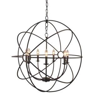 Lovettsville 7-Light LED Globe Chandelier by Greyleigh