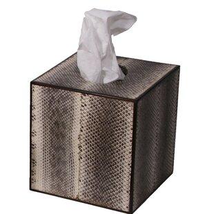 Oggetti Snakeskin Tissue Box Cover