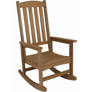 Balfour All-Weather Rocking Chair Millwood Pines