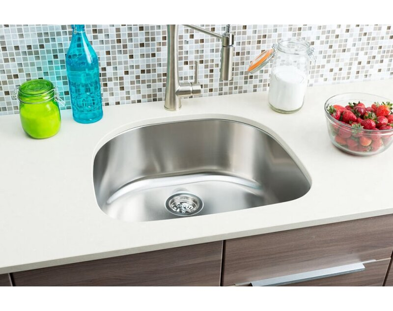 Hahn Classic Chef 23 38 L X 21 W Single Bowl Undermount Kitchen Sink Wayfair